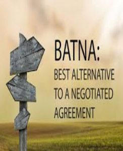پاورپوینت BATNA بتنا در مذاکره چیست