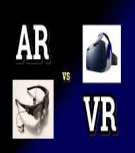 پاورپوینت آشنایی با واقعیت افزوده AR و واقعیت مجازی VR