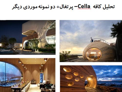 پاورپوینت تحلیل کافه Cella پرتغال + دو نمونه موردی دیگر