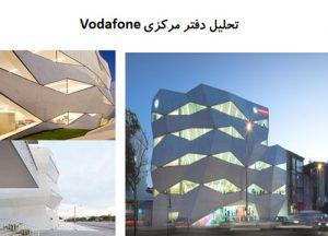 پاورپوینت تحلیل دفتر مرکزی Portugal Vodafone