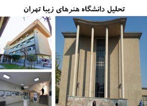 پاورپوینت تحلیل دانشگاه هنرهای زیبا تهران