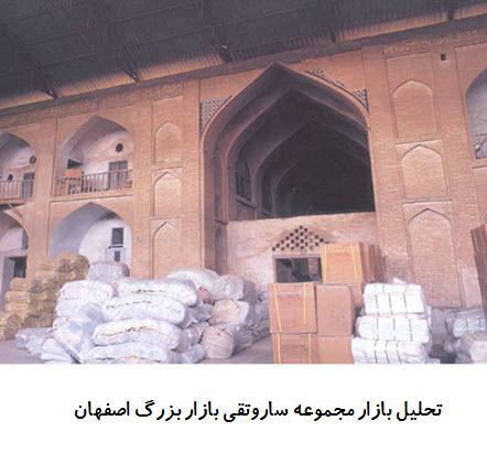 پاورپوینت تحلیل بازار مجموعه ساروتقی بازار بزرگ اصفهان